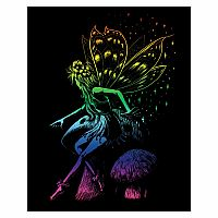 Engraving Art Rainbow - Fairy Princess
