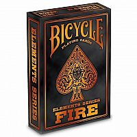 Bicycle Playing Cards: Elements Series - Fire