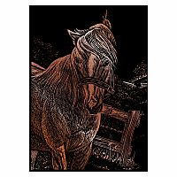 Engraving Art Copper - Mini Mare