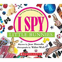 I Spy Little Bunnies: A Book of Picture Riddles