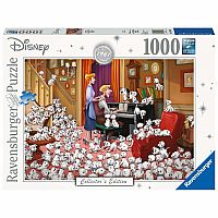 Disney: 101 Dalmations (1000pc Puzzle)
