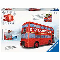 3D London Bus (216 pc 3D) Ravensburger