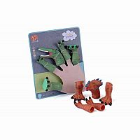 Dino Finger Puppet Set Carded Assorted