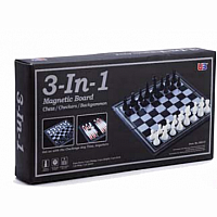 3-in-1 Chess / Checkers / Backgammon