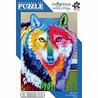 Big Wolf (1000 pc) Indigenous Collection