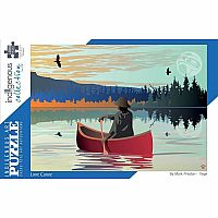 Lone Canoe (1000 pc) Indigenous Collection