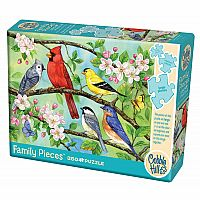 Bloomin' Birds (350 pc Family) Cobble Hill