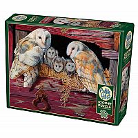 Barn Owls (1000 pc) Cobble Hill