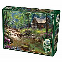 Fishing Cabin (1000 pc) Cobble Hill