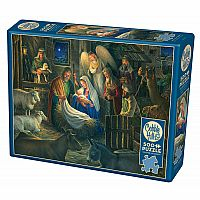 Away In A Manger (500 pc) Cobble Hill