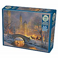 Winter In The Park (500 pc) Cobble Hill